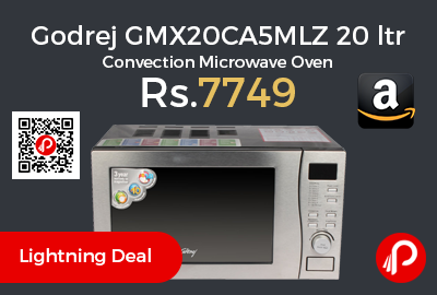 Godrej GMX20CA5MLZ 20 ltr Convection Microwave Oven