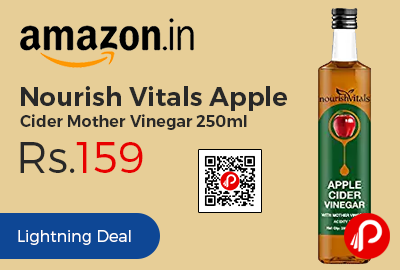 Nourish Vitals Apple Cider Mother Vinegar 250ml