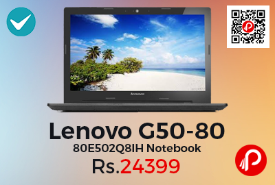 Lenovo G50-80 80E502Q8IH Notebook