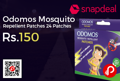 Odomos Mosquito Repellent Patches 24 Patches