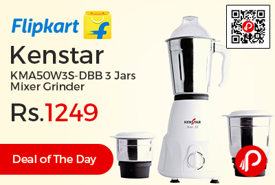 Kenstar KMA50W3S-DBB 3 Jars Mixer Grinder