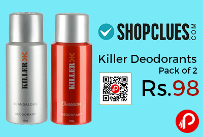 Killer Deodorants Pack of 2