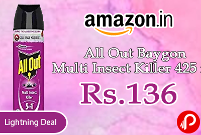 All Out Baygon Multi Insect Killer 425 ml
