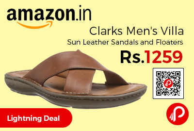 Clarks Men's Villa Sun Leather Sandals and Floaters
