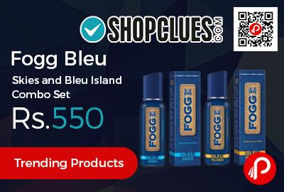 Fogg Bleu Skies and Bleu Island Combo Set
