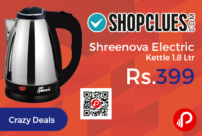 Shreenova Electric Kettle 1.8 Ltr