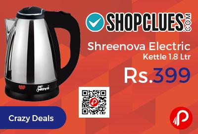 Shreenova Electric Kettle 1.8 Ltr