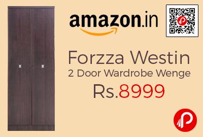 Forzza Westin 2 Door Wardrobe Wenge