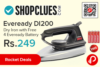 Eveready DI200 Dry Iron