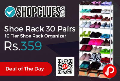 Shoe Rack 30 Pairs 10 Tier Shoe Rack Organizer