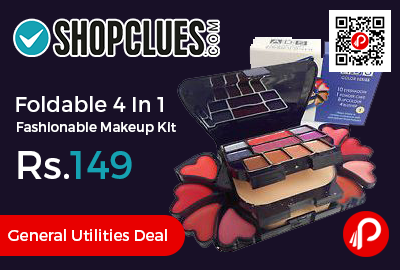 Foldable 4 In 1 Fashionable Makeup Kit