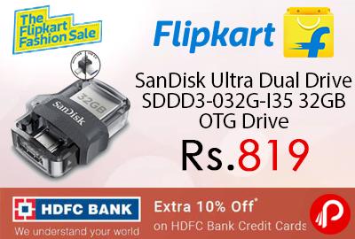 SanDisk Ultra Dual Drive SDDD3-032G-I35 32GB OTG Drive
