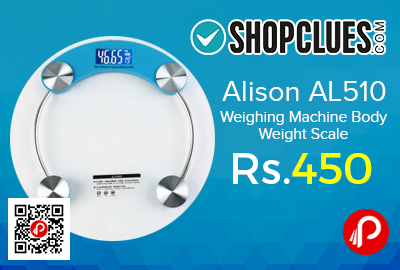 Alison AL510 Weighing Machine Body Weight Scale