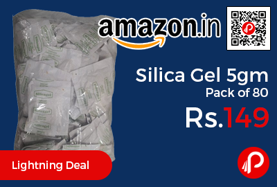 Silica Gel 5gm Pack of 80