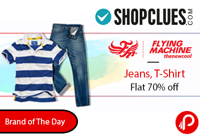 Flying Machine Jeans, T-Shirt