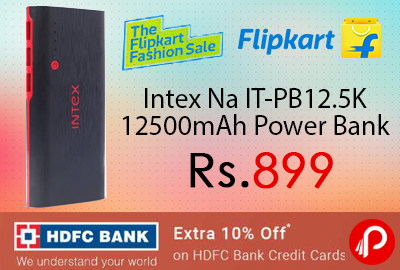 Intex Na IT-PB12.5K 12500mAh Power Bank