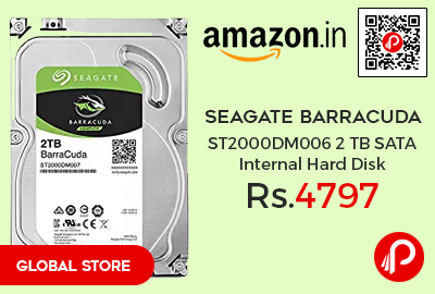 Seagate Barracuda ST2000DM006 2 TB SATA Internal Hard Disk
