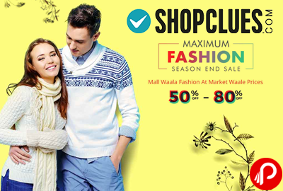 Maximum Fashion End of Season Sale