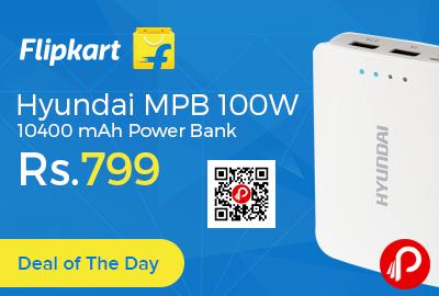 Hyundai MPB 100W 10400 mAh Power Bank