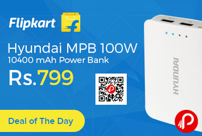 Hyundai MPB 100W 10400 mAh Power Bank