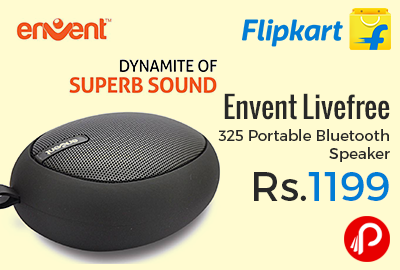 Envent Livefree 325 Portable Bluetooth Speaker