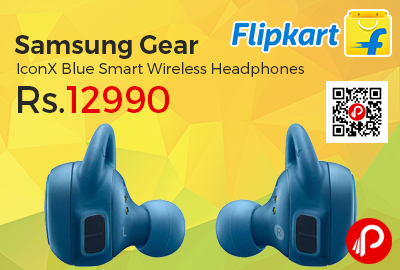 Samsung Gear IconX Blue Smart Wireless Headphones