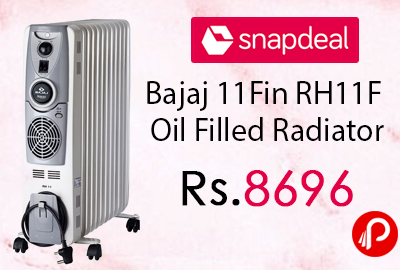 Bajaj 11Fin RH11F Oil Filled Radiator
