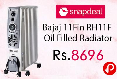 Bajaj 11Fin RH11F Oil Filled Radiator