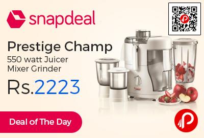 Prestige Champ 550 watt Juicer Mixer Grinder