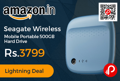 Seagate Wireless Mobile Portable 500GB Hard Drive