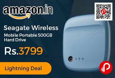 Seagate Wireless Mobile Portable 500GB Hard Drive