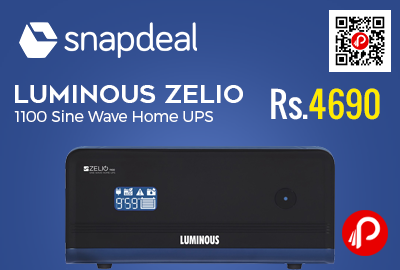 Luminous Zelio 1100 Sine Wave Home UPS