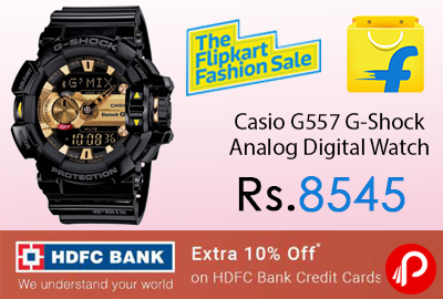 Casio G557 G-Shock Analog Digital Watch
