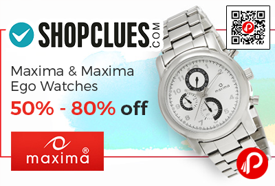 Maxima & Maxima Ego Watches