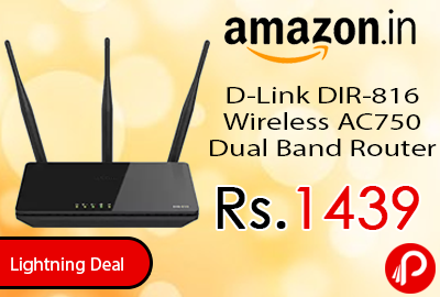 D-Link DIR-816 Wireless AC750 Dual Band Router