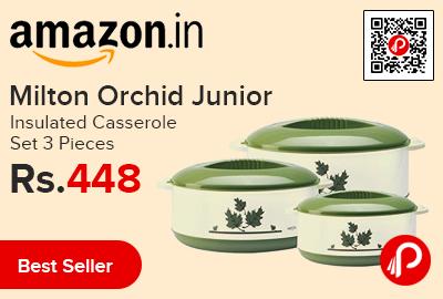 Milton Orchid Junior Insulated Casserole Set 3 Pieces