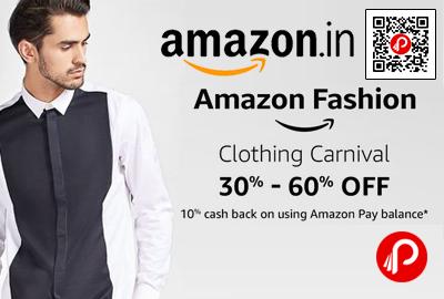 Amazon Fashion Clothing Carnival