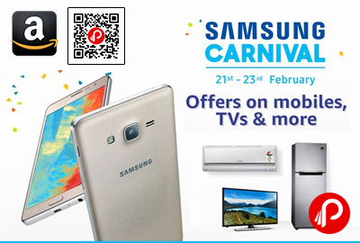 Samsung Carnival offers on Mobiles