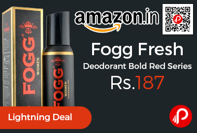 Fogg Fresh Deodorant Bold Red Series