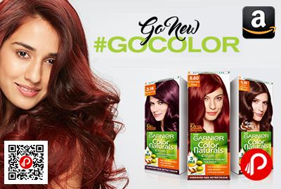Garnier Color Naturals Hair Color Go Color Range