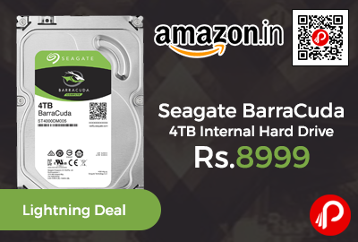 Seagate BarraCuda 4TB Internal Hard Drive