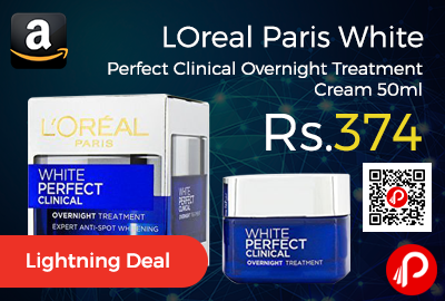 LOreal Paris White Perfect Clinical Overnight Treatment Cream 50ml