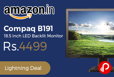 Compaq B191 18.5 inch LED Backlit Monitor
