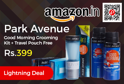 Park Avenue Good Morning Grooming Kit