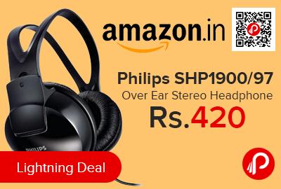 Philips SHP1900/97 Over Ear Stereo Headphone