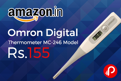 Omron Digital Thermometer MC-246 Model