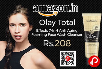 Olay Total Effects 7-In-1 Anti Aging Foaming Face Wash Cleanser