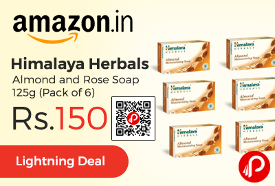 Himalaya Herbals Almond and Rose Soap 125g