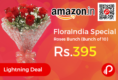 FloraIndia Special Roses Bunch