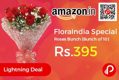FloraIndia Special Roses Bunch